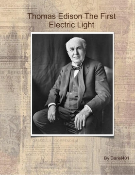 The First Electric Light