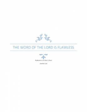 The Word of the Lord is flawless