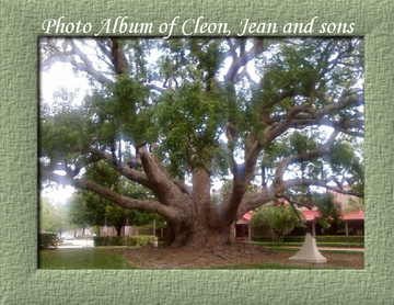 Photo Album of Cleon, Jean and sons