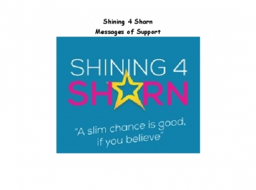 Shining 4 Sharn Messages of Support