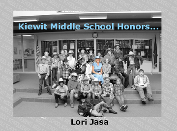 Kiewit Middle School Honors...