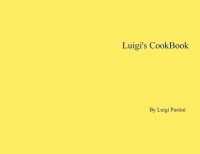 Luigi's CookBook