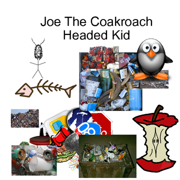 Joe the coackroach headed dude