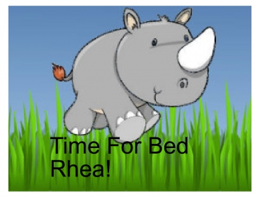 Time For Bed Rhea