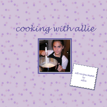 cooking with allie