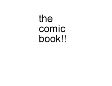 the comic book