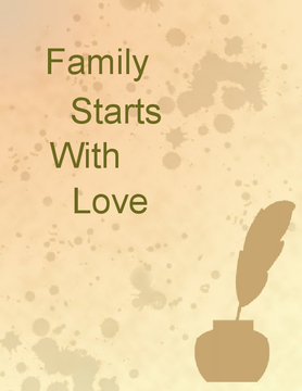 Family starts with Love