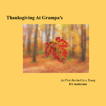 Thanksgiving At Grampa's