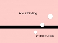 a to z finding