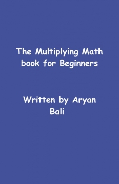 The multiplying math book for beginners