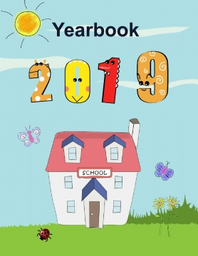 Yearbook Templates 8.5x11 - Kindergarten