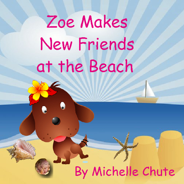 Zoe Makes New Friends at the Beach