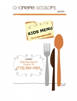 Changing Seasons Bistro Kids Menu