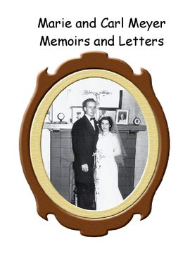 Memoirs of Carl and Marie Meyer