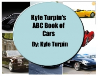 Kyle Turpin's ABC Book of Cars