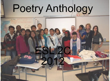 ESL 2C Poetry Anthology 2012