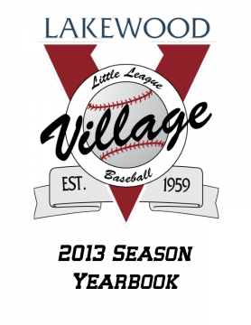 2013 Spring Season Yearbook