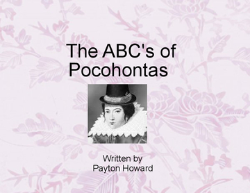 The Abc's of Pocohontas