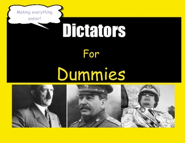 Dictators For Dummies