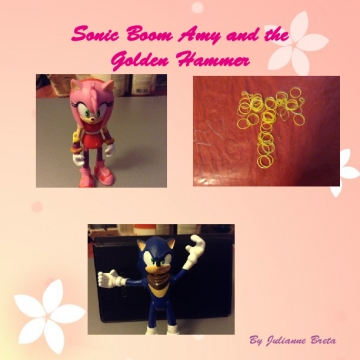 Sonic Boom Amy and the golden Hammer