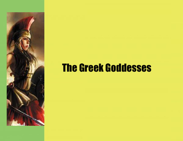 The Greek Goddesses