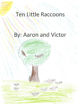 Ten Little Raccoons