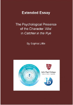 The Psychological Presence of the character 'Allie' in Catcher in the Rye
