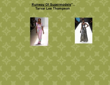 Runway of supermodels