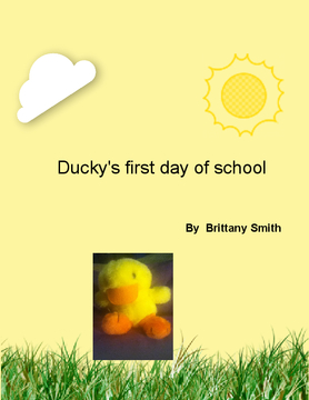ducky's first day of school