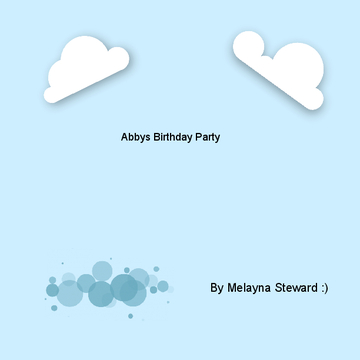 Abbys Birthday Party