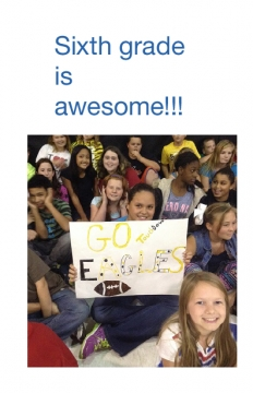 Sixth grade is awesome!