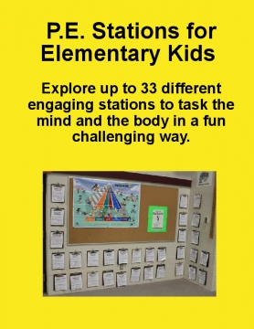 P.E. Stations for Elementary Kids