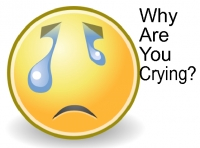 Why are you crying?