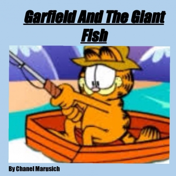 Garfield and the giant fish