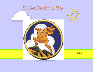 The day the camel flew