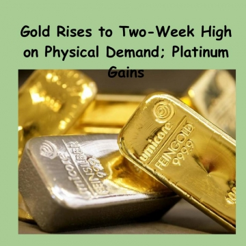 Gold Rises to Two-Week High on Physical Demand; Platinum Gains