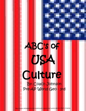 ABC's of USA Culture