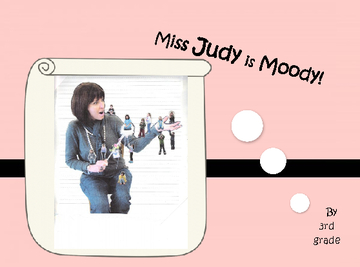 Miss Judy is Mooday