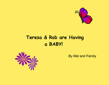 Teresa & Rob are having a BABY!