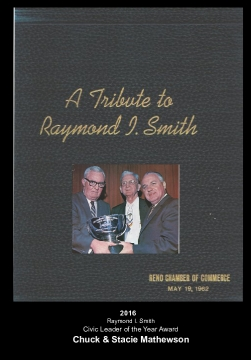 Raymond I. Smith 75th Birthday Tribute