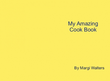 My Amazing Cook Book