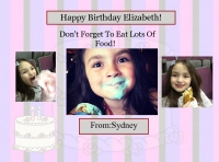 Happy Birthday Elizabeth!