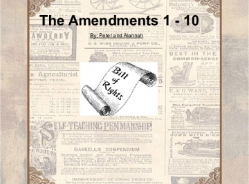The Amendments 1-10