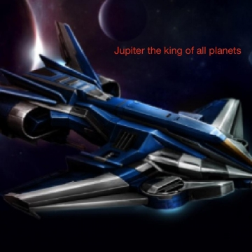 Jupiter the king of all planets