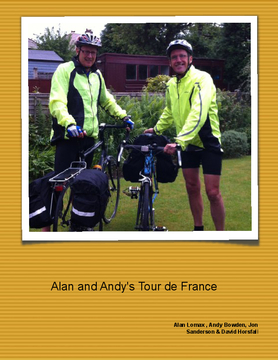 Alan and Andy's Tour de France