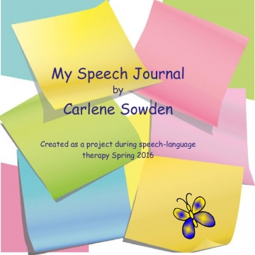 My Speech Journal - 2016