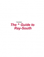 The Guide to RaySouth