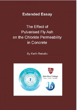 The Effect of Fly Ash on the Chloride Permeability in Concrete