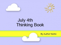 July 4th Thinking book