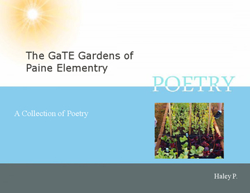 The GaTE Gardens of Paine Elementary